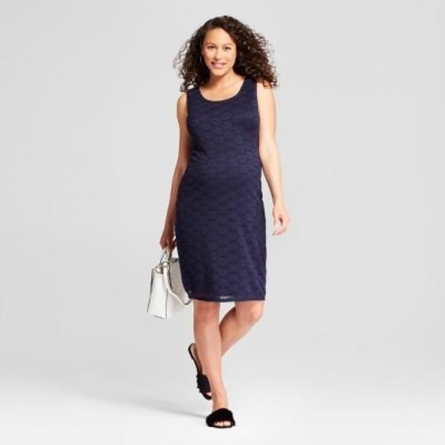 79ae1201c2f84 Maternity Sleeveless Lace Tank Dress - Isabel Maternity by Ingrid & Isabel  Navy S