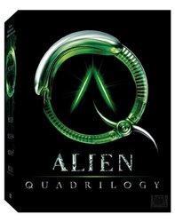 Alien Quadrilogy (Alien/ Aliens/Alien 3/Alien Resurrection) - DVD Set