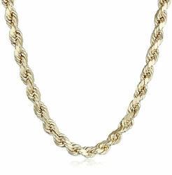 Men's Signature 14K 5.5mm Necklace -  Unbranded