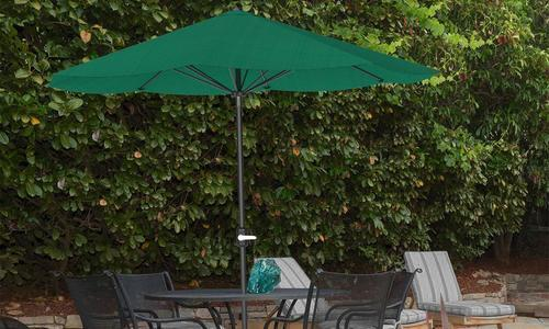 Pure Garden 9 Aluminum Patio Umbrella With Auto Crank