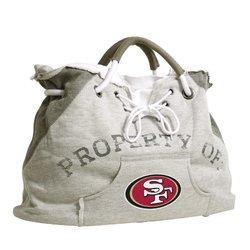 NFL San Francisco 49ers Hoodie Tote - Gray