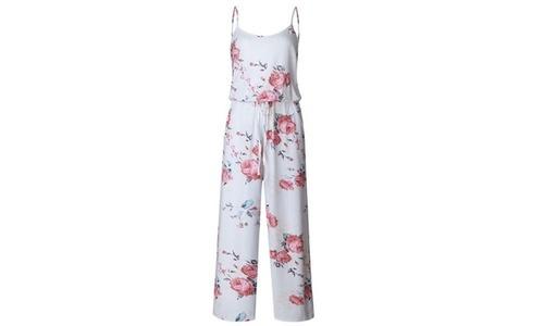 9729654d857f Women s Floral Pant Romper - White - Size  Medium - Check Back Soon ...