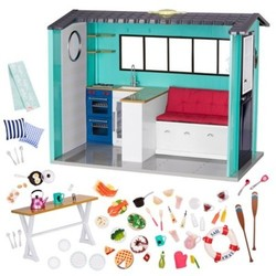 Our Generation Beach House Playset for 18