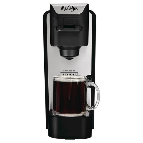 Mr Coffee Single Cup Coffee Maker Stainless Steel Bvmc Sc100