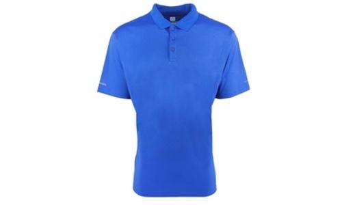 79ab5b95 Columbia Men's Perfect Cast Polo Shirt - Vivid Blue - Size: XLarge ...