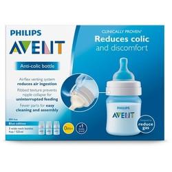 Philips Avent Anti-colic Baby Bottles Blue, 9oz, 3 Piece