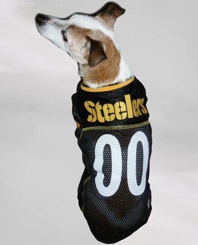 70ebaccd4 NFL Pet Pittsburgh Steelers Hunter Alternate Jersey - Black - Size  Large  ...