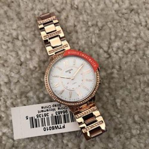 747fcdc84 ... Fossil Q Women's Virginia Hybrid Smart Watch - Rose Goldtone (FTW5010)  ...