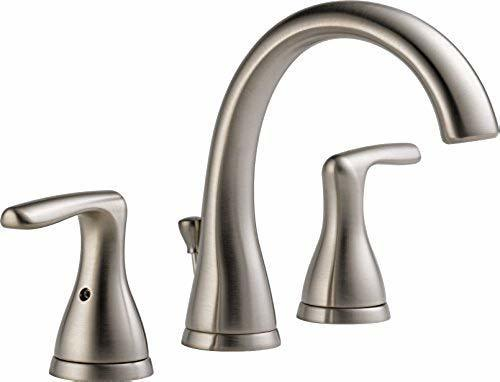 Delta Faucet P99137lf Bn Single Handle Bathroom Faucet Brushed