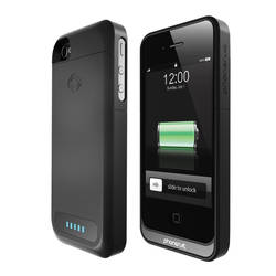 PhoneSuit Elite Battery Charger for iPhone 4-4S in Black