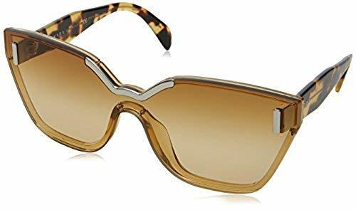 d53141c9054 Prada Women s Cat Eye Sunglasses - Light Yellow - BLINQ