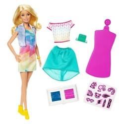 Barbie Crayola Color Stamp Fashion Doll -