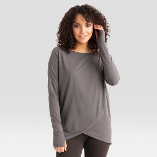bcdd8dd5054 ... Hottotties Wander Women's Thermoregulation Tunic - Gray - Size:S ...