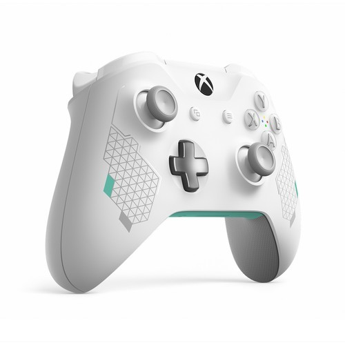 Xbox One WL300082 Sport Wireless Controller - White/Teal