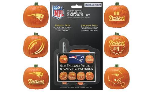 watch 3cbc4 ccea3 Boelter NFL New England Patriots Pumpkin Carving Kit 9 Piece - Multi -  Check Back Soon