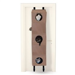 K&H Manufacturing Hanging Cat Condo - Tan - Size: S (3200)