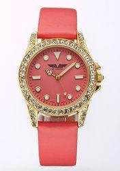 Depote Adria Ladies' Watch: Coral Band