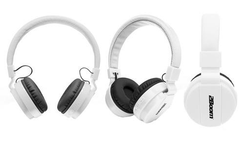 2Boom Blast Bluetooth Wireless Over Ear Headphones - White (HPBT220)