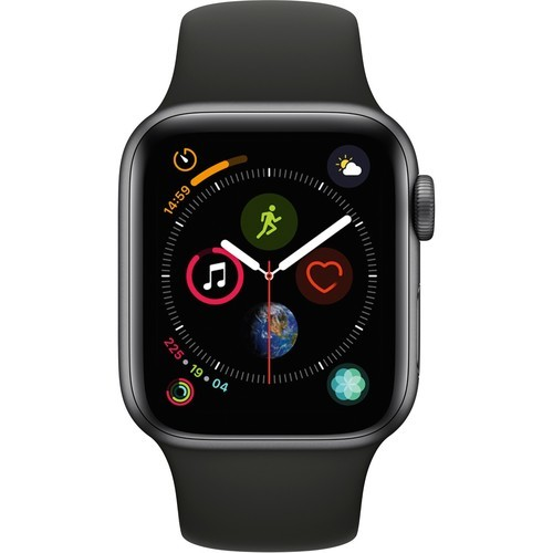 Apple 40mm Series 4 Aluminum Smart Watch Space Gray