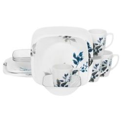 Deals on Corelle Boutique Kyoto Night 16-Piece Dinnerware Set Open Box