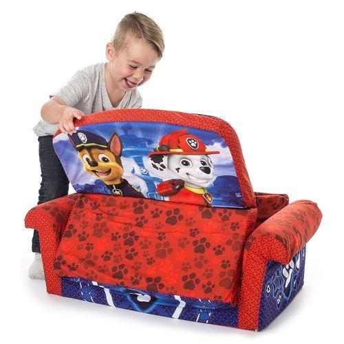 Marshmallow Furniture Childrens 2 In 1 Flip Open Foam Sofa Multi