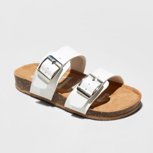 59a9e1cb2a70d Girls  Mad Love Scarlett Footbed Sandals - White 3 - Check Back Soon ...