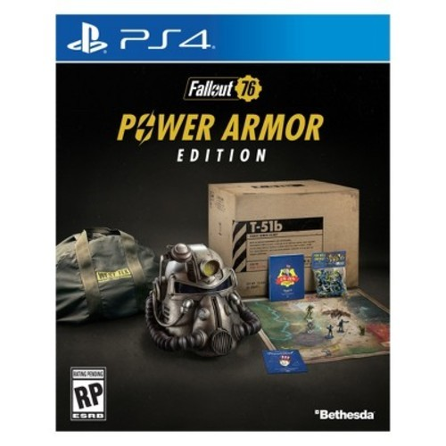 Bethesda Fallout 76 Power Armor Edition Video Game for PS4 (FAOCCOP4PENA)