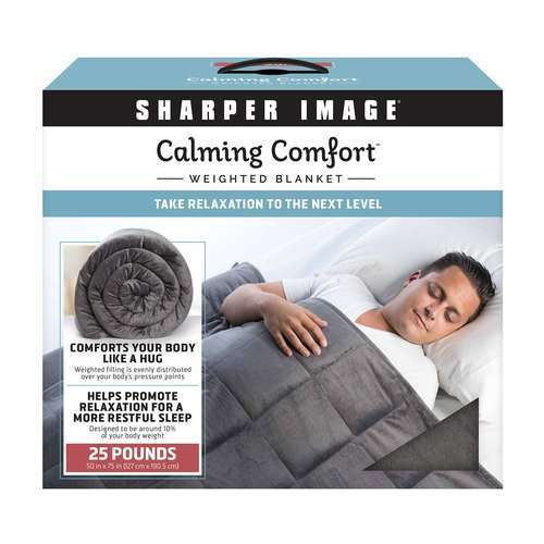 25lb Weighted Blanket Gray As Seen On Tv Blinq