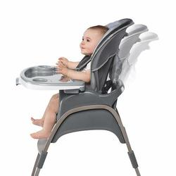 Deals on Ingenuity Baby Boutique 3-in-1 Wood High Chair Open Box
