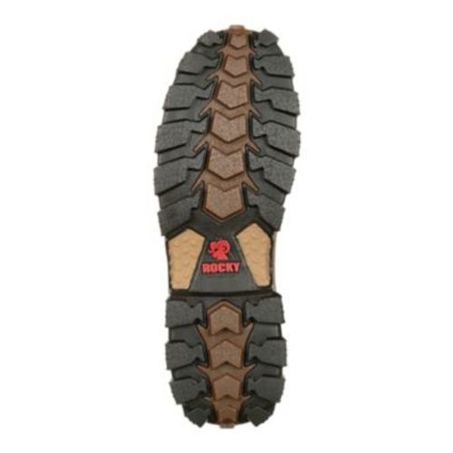 422b5c10a39 Rocky Men's Alpha Force Composite-Toe Work Boot - Brown - Size: 11
