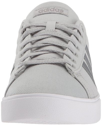 Adidas Men's Daily 2.0 Canvas Sneakers GrayWhite Size