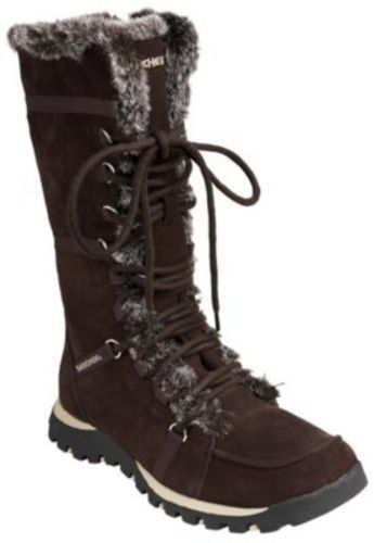 Skechers Women's Grand Jams Unlimited Boot Brown Size