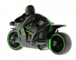 CIS 1:18-Scale Remote Controlled Motorcycle - Green