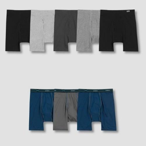 8de23d11dc Hanes Men s Comfort Soft Boxer Briefs +3 Bonus Xtemp Boxer Briefs - Size L  - BLINQ