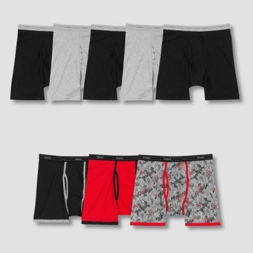3a9f36fe1dce Hanes Men's P5 Comfort Soft Waist Band Boxer Briefs +3 Bonus Xtemp Boxer  Briefs -