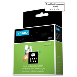 DYMO 30336 LabelWriter Self-Adhesive Multi-Purpose Labels, 1- by 2 1/8-inch, Roll of 500