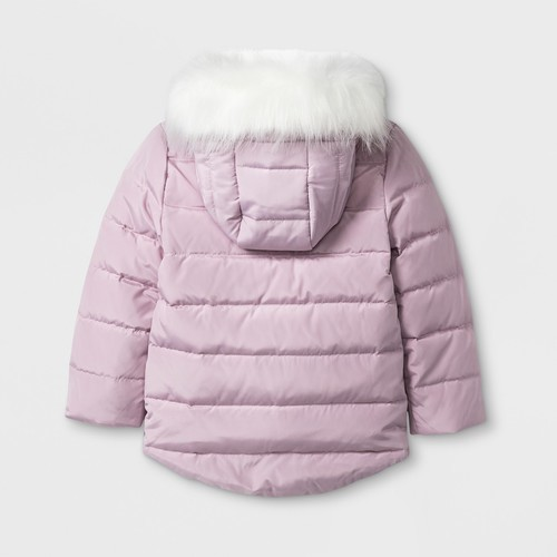 445a50ec3 Hello Kitty Toddler Girls' Down Parka Jacket- Pink - Size:6 - Check ...