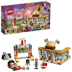 Lego Friends Drifting Diner 345-Pc. Building Set