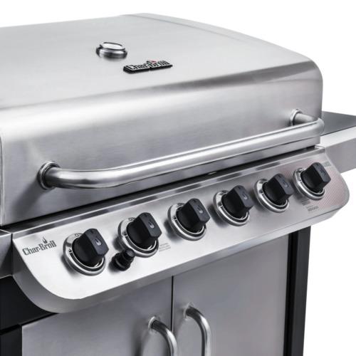 Char Broil Performance 6 Burner Liquid Propane Gas Grill - Silver - Check  Back Soon