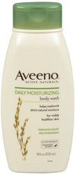Aveeno Active Naturals Daily Moisturizing Body Wash - 18 Oz (J&J070128)
