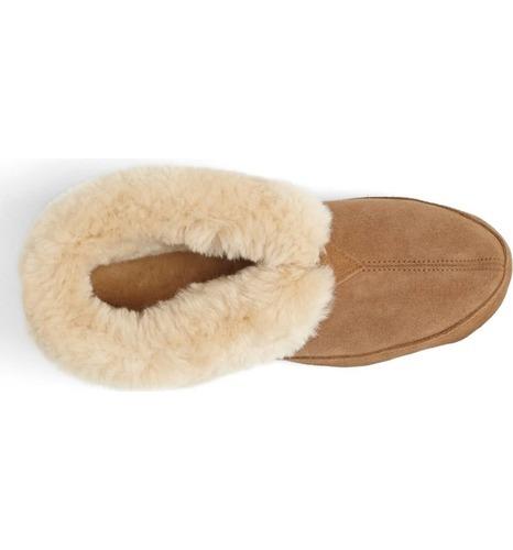 240064c2764 Acorn Men s Sheepskin Bootie Slippers - Walnut - Size  13 - BLINQ