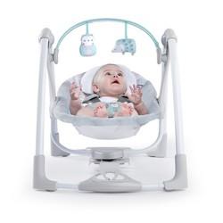 Ingenuity Baby Power Adapt Portable Swing Abernathy