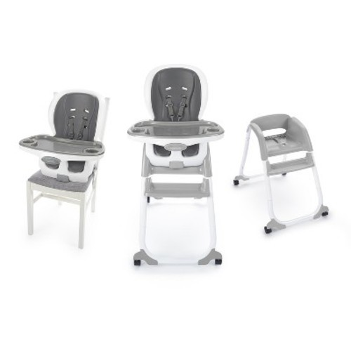 Phenomenal Ingenuity Baby Smart Clean Trio Elite 3 In 1 High Chair Slate Theyellowbook Wood Chair Design Ideas Theyellowbookinfo