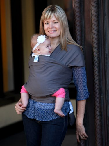 Moby Modern Baby Carrier Wrap For Newborns Slate Check Back Soon