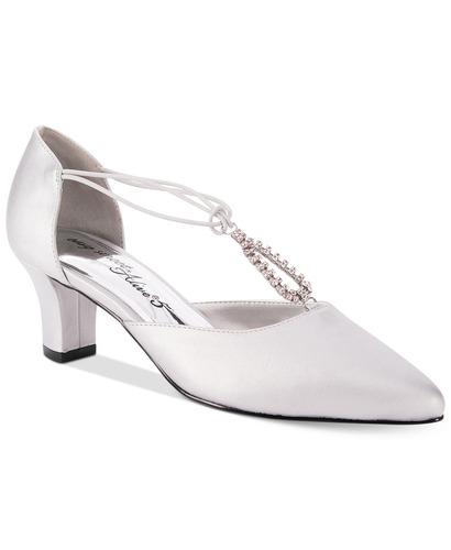 de9e271bd54 Easy Street Women s Moonlight Pump - Silver - Size  6 - BLINQ
