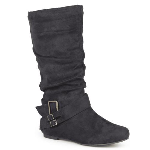9ed2e65e2f3 ... Journee Collection Women s Shelley-6 Wide-Calf Boot - Black - Size  ...