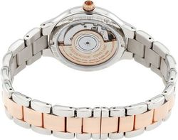 Frederique Constant 33mm Women's Analog Watch - White/Silver & Rose Gold
