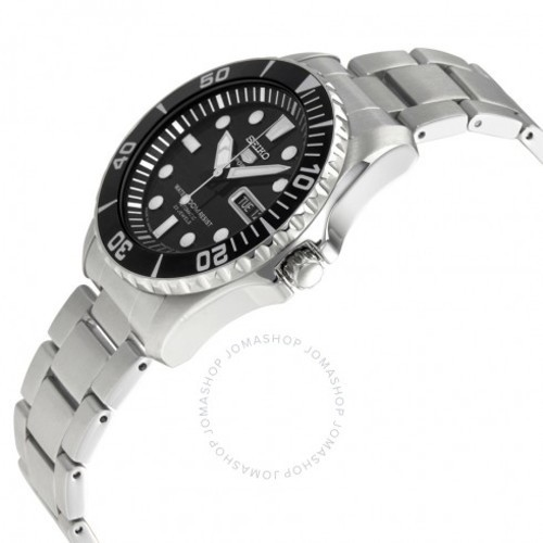 release date: ce2d8 98d9b Seiko 38mm Men's Automatic Watch - Black/Silver (SNZF17J1) - Check Back Soon