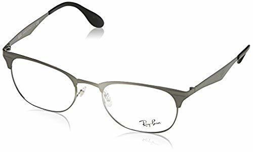 125fec28bce Ray-Ban Unisex 52mm 2553 Square Eyeglasses - Gunmetal (RX6346) - BLINQ