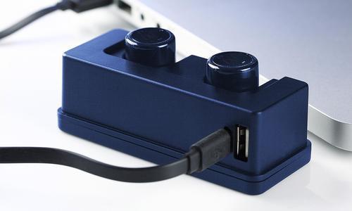 826d3537fdd Magicbeatz 6 Hour True Wireless Stereo Bluetooth Sport Earbuds - Blue ...